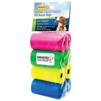 BAG DOG WASTE COLOR ASST 120CT