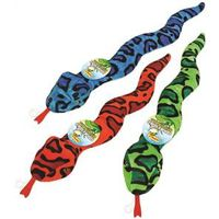 TOY SQUEAKY SNAKE FASHION ASST
