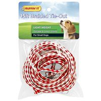TIE-OUT RND BRAIDED LIGHT 15FT