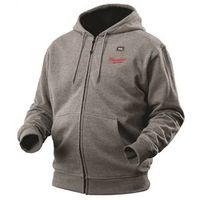 HOODIE HEATED M12 GRAY LARGE