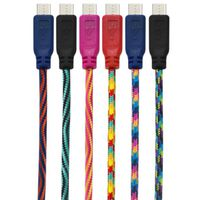 CABLE MICRO-USB BRAIDED 10FT