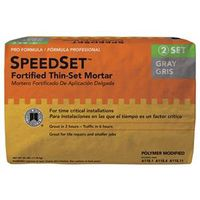 SpeedSet SDS25 Fortified Thin?Set?Mortar