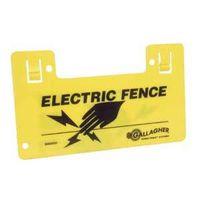 SIGN WARNING ELEC FENCE
