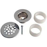 TUB DRAIN STRAINER CHROME