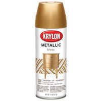 SPRAY PAINT METALIC BRASS 11OZ