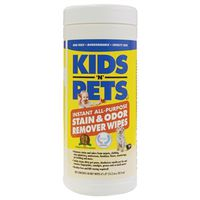 WIPES STAIN/ODOR REMOVER 40CT
