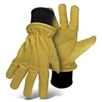 GLOVES DRIVER COW LEATHER MED