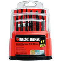 Black & Decker 15097 Drill Bit Set