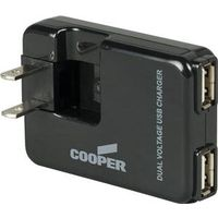 Cooper BP450-SP Dual Plug-In USB Charger