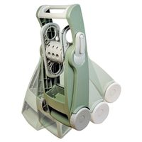 Ames Fold & Store Hose Reel Cart With Leg Lock