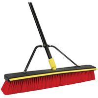 Quickie 00635SU 2-In-1 Push Broom