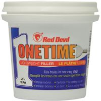 Red Devil Onetime Lightweight Spackling Compound