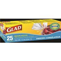 Glad 12617WAVE Freezer Bag