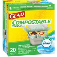 Glad Easy-Tie 78162FRM2 Biodegradable Compostable Bag
