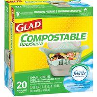 Glad Easy-Tie 78162FRM2 Biodegradable Compostable Bag