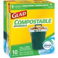 Glad Odour Guard 78163 Biodegradable Compostable Bag