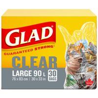 Glad Easy-Tie 01243 Garbage Bag
