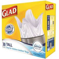 Glad Easy-Tie Kitchen Catchers 10519FZ Garbage Bag