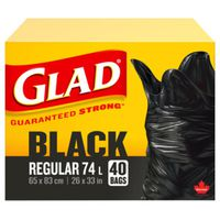 Glad Easy-Tie 11858 Garbage Bag