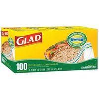 12623 100PK GLAD SANDWICH BAGS