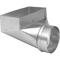 DUCT ANGLE BOOT 3-1/4X10X6IN