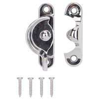 SASH LOCK 2-1/2IN BRT CHROME