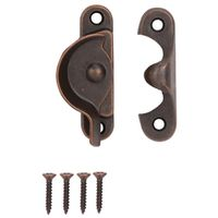 SASH LOCK 2-1/2IN VEN BRONZE