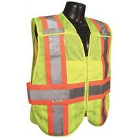 Radwear SV24-2ZGM 2-Tone Breakaway Expandable Safety Vest