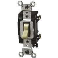 Leviton C21-05501-LHI Grounded Toggle Switch