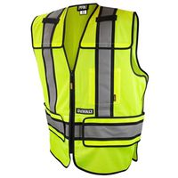 VEST SAFETY BRKAWAY CLS2 XL/3X