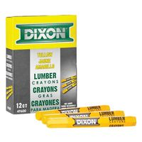 Dixon Ticonderoga 49300 Extruded Hexagonal Lumber Crayon