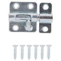 BARREL BOLT STL 2IN ZINC PLATE