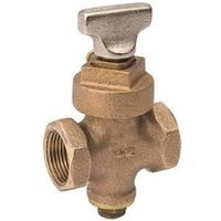 B&K Proline Ground Key Stop and Drain Valve