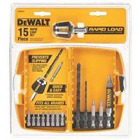 Dewalt DW2513 Rapid Load Drill Bit Set