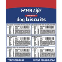 Sunshine Mills 2890 Petlife Dog Biscuits