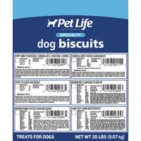 Sunshine Mills 2892 Petlife Dog Biscuits