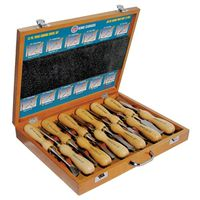 SET CHISEL WOOD 12PC