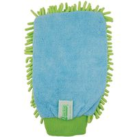 MITT CLEANING MICROFIBER GREEN