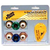 Bussmann TL-EK Emergency TL Edison Base Plug Fuse Kit