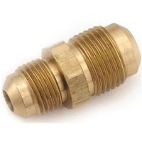 Anderson Metal 754056-0806 Brass Flare Fitting