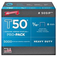 T50 Pro-Pack 505IP Flat Crown Staple