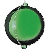 MOTION LED BALL 6IN GREEN