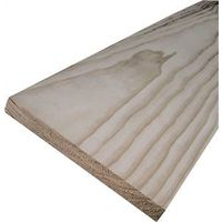 American Wood PCLR1X6-6 4-Sided Sanded Common Board