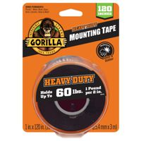 TAPE MOUNTING BLACK XL 1X120IN