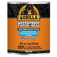 PATCH-SEAL WTRPRF BLACK 16OZ