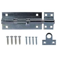 BARREL BOLT LOCK HD 7-1/2 ZINC