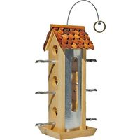 Perky Pet 50171 Tin Jay Bird Feeder