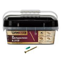 SCRW FRM/DK R4 900PK 9X2-1/2IN