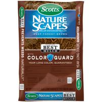 MULCH COLOR DEEP FRT BROWN 2CF