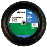 Arnold WB-468 2-Ply Ribbed Tread Replacement Wheelbarrow Tire